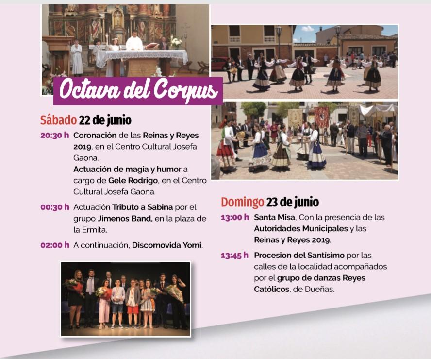 22 y 23/06: OCTAVA DEL CORPUS
