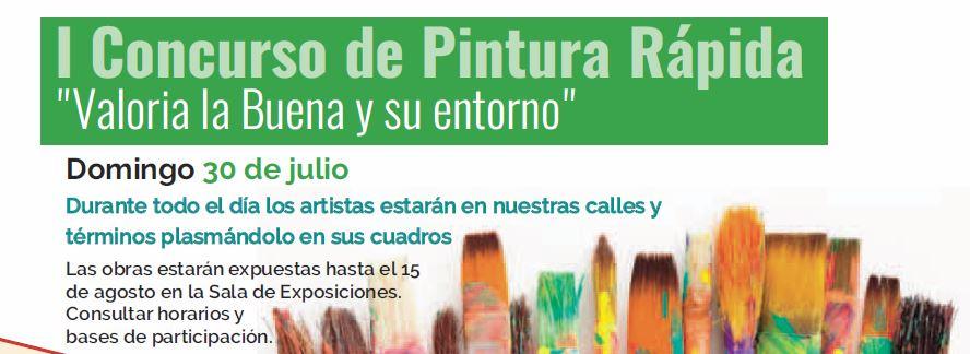 30/07: CONCURSO DE PINTURA RÁPIDA