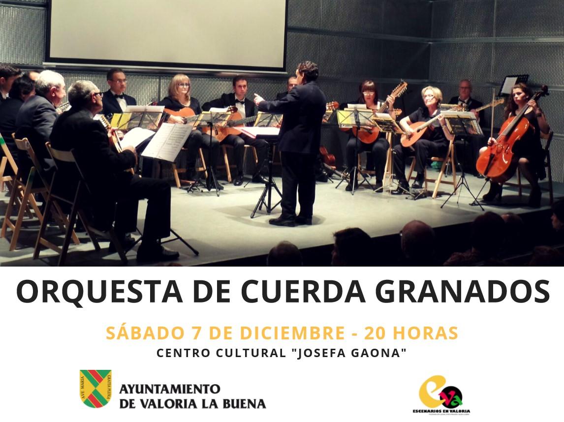 07/12: CONCIERTO DE LA ORQUESTA DE CUERDA GRANADOS